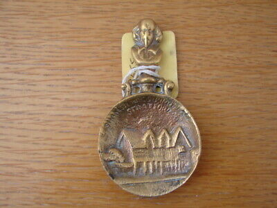 Solid Brass Tea Caddy Spoon William Shakespeare