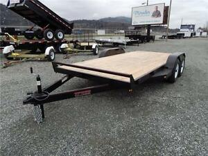 2017 16' 10,000lb FLATDECK EQUIPMENT / CAR TRAILER