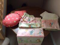 Nursery: Curtains and Cushions