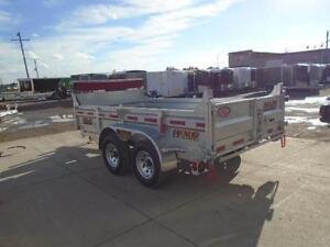 HOT DIPPED GALVANIZED 6X12 DUMP TRAILER - CANADIAN MADE! London Ontario image 4