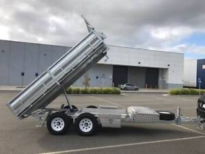 FROM $436 P/MONTH ON FINANCE* 12x7 GALVANISED FLATBED TIPPER 3.5t Coburg Moreland Area Preview