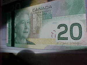 Five Choice UNC 2004 RADAR $20 With Same Prefix EYK Rare!! London Ontario image 4