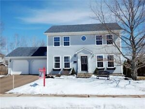 Two storey contemporary colonial located in Moncton North
