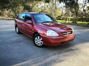 2003 Kia Rio MY03 LS Red 5 Speed Manual Hatchback