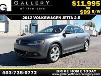 2012 Volkswagen Jetta 2.5L $99 bi-weekly APPLY NOW DRIVE NOW