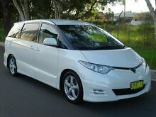 2006 Toyota Estima AERAS 3.5 LT V6 White 5 Speed Tiptronic Wagon Caringbah Sutherland Area Preview