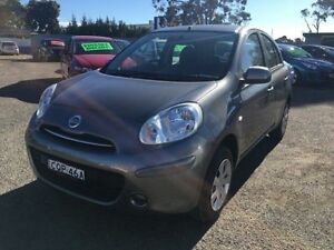 2012 Nissan Micra K13 ST Grey 4 Speed Automatic Hatchback Lansvale Liverpool Area Preview