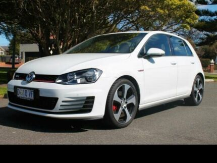 2014 Volkswagen Golf AU MY14 GTi Pure White 6 Speed Manual Hatchback