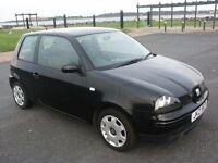 Seat Arosa S 1.0L 2003 23000 miles. Black. Private sale