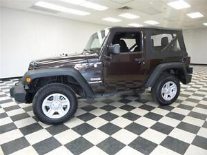 2013 Jeep Wrangler SPORT TRAIL RATED - LOW KMS**CRUISE**SOFT TOP