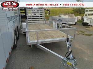 14' SINGLE AXLE ATV TRAILER -IN LINE - EASY TO TOW, LIGHT WEIGHT