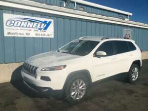 2015 Jeep Cherokee Limited 4x4 New Tires