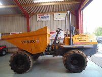 Benford Terex PT6000 Forward Tip Dumper, 4WD, 2007