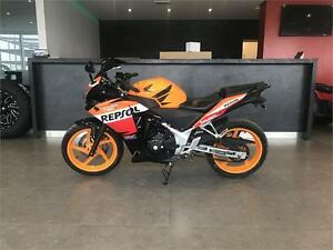 2013 HONDA CBR 250R REPSOL EDITION ABS!!$36.67 BI-WEEKLY,$0 DOWN