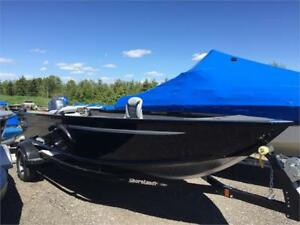 AlumaCraft Escape 165, Yamaha F25LEHA, Shoreland'r Trailer