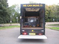 WE CAN MOVE IT CHEAP LOCAL RATES LUTON VAN WITH TAIL LIFT