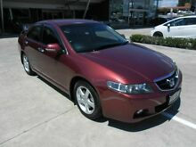 2004 Honda Accord Euro CL Red 6 Speed Manual Sedan Yamanto Ipswich City Preview