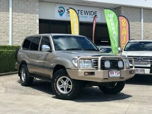 2005 Toyota Landcruiser UZJ100R GXL Gold 5 Speed Automatic Wagon