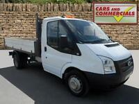 2013 FORD TRANSIT TIPPER 350 MWB 1 Way 1 Stop 125ps