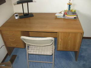 Wooden Student Desk in Good Condition