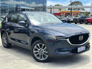 2019 Mazda CX-5 KF4WLA Akera SKYACTIV-Drive i-ACTIV AWD Blue 6 Speed Sports Automatic Wagon Palmyra Melville Area Preview
