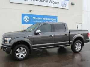 2016 Ford F-150 PLATINUM - NAV - LEATHER - SUNROOF - REAR-VIEW C
