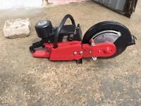 SACHS Dolmar 309 petrol stone saw/disc cutter with diamond blade