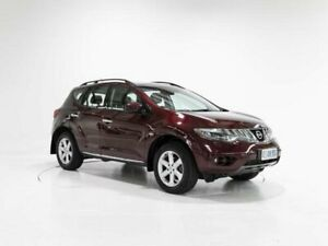 2010 Nissan Murano Z51 TI Maroon 6 Speed Constant Variable Wagon Cooee Burnie Area Preview