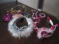 *Disney Tiara's, Jewellery & Sequinned Tangled handbag