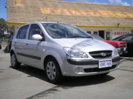 2009 Hyundai Getz TB MY09 S Silver 5 Speed Manual Hatchback Kenwick Gosnells Area Preview