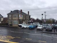Premium Car Sales Site, Kingswood, Bristol 80-100 cars, Wash Bay, Prestige Offices, Valet Bay option
