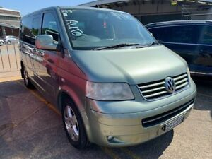2008 Volkswagen Multivan T5 Highline Green 6 Speed Sports Automatic Wagon Wickham Newcastle Area Preview