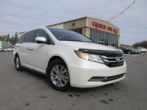 2015 Honda Odyssey EX-L w/RES, LEATHER, ROOF, 28K!