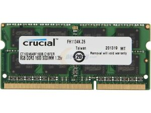 4GB 2GB and 1GB PC3-10600S Laptop RAM