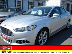 2016 Ford Fusion SE you're approved $96.40 a week tax inc. SE