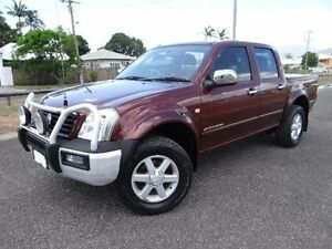 2005 Holden Rodeo RA MY05.5 Upgrade LT (4x4) Maroon 5 Speed Manual Crewcab Bungalow Cairns City Preview