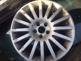 """SET OF 4 Genuine Ford Mondeo ST220 / ST TDCi 18"""" x 7.5J Alloy Wheels & Tyres"""