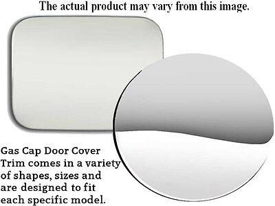 Gas Cap Cover - Custom Fit Chrome Finish Stainless Steel QAA Fuel Tank Door Trim