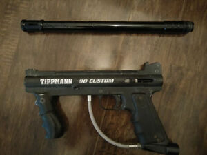 Tippman 98 custom with 14 inch barrel