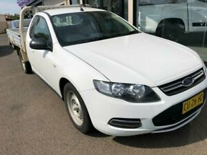 2012 Ford Falcon FG MkII Super Cab White 6 Speed Sports Automatic Cab Chassis West Tamworth Tamworth City Preview