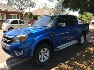 2010 Ford Ranger PK XLT Crew Cab Blue 5 Speed Automatic Utility Croydon Burwood Area Preview