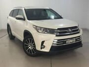 2017 Toyota Kluger GSU55R Grande AWD White 8 Speed Sports Automatic Wagon Chatswood Willoughby Area Preview