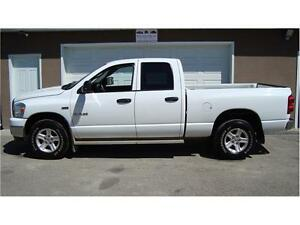 2008 DODGE 1500 SLT CREWCAB SHORTBOX 4X4 5.7L 223K ONLY $9,975.
