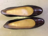 Beautiful Womens Bruno Magli Womens Shoes size 38.5 UK 6 Chestnut As New Elegant £70 Free Postage'