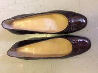 Beautiful Womens Bruno Magli Womens Shoes size 38.5 UK 6 Chestnut As New Elegant £70 Free Postage'