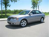 2007 HYUNDAI SONATA 61,000Km LEATHER/ROOF - !GET APPROVED TODAY!