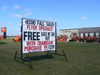 * Advertising Business opportunity..Mobile signs, Portable signs