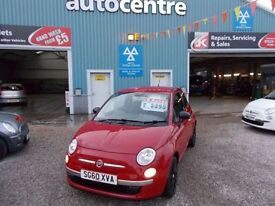 FIAT 500 1.2 POP 3d 69 BHP in good condition (red) 2010