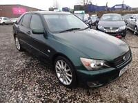 LEXUS IS200 SE AUTO~05/2005~4 DOOR SALOON~AUTOMATIC~STUNNING METALLIC GREEN