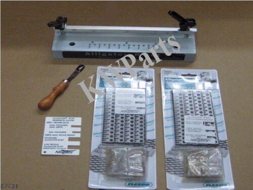 """15004 7"""" Splice Tool Kit Flexco Alligator Rivet 2 packs 15001 Baler splice"""